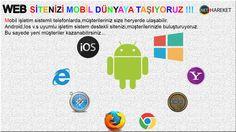 Web sitenizi mobil dünyaya taşıyoruz... http://www.nethareket.com/mobil-programlama.php …