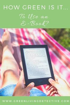 By their nature, e-books don't require a trip to the bookstore, they don't use paper, and there's no shipping of heavy boxes. But like a lot of Green questions, whether books or e-readers are more eco-friendly is a bit more complicated. So, are e-books eco-friendly? Follow the link to find out! >>>>> #ebooks #ebook #ereader #greenliving #zerowaste #read #reading #cozy #winteractivity #sustainableliving #sustainability Ways To Recycle, Reuse, Green Companies, Green Products, Electronic Parts, Eco Friendly House, Living At Home, Green Life, Winter Activities