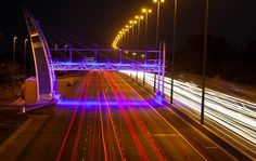 An e-toll gantry on the N1 highway in Johannesburg. File photo Image by: The Times / Halden Krog / Gallo Images