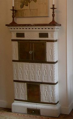 Image detail for -Porcelain fireplace in Paris with bread baking oven