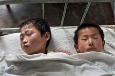 Zu wenig Betten im Krankenhaus von Anju (J. Escher, 5/11)