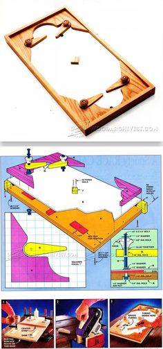 DIY Marble Hockey - Wooden Toys Plans and Projects | WoodArchivist.com