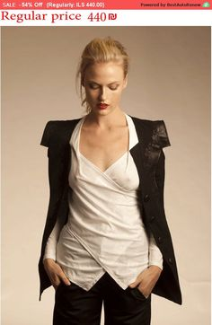Hey, I found this really awesome Etsy listing at https://www.etsy.com/listing/246885664/54-sale-party-shirt-sexy-blouse-white-v