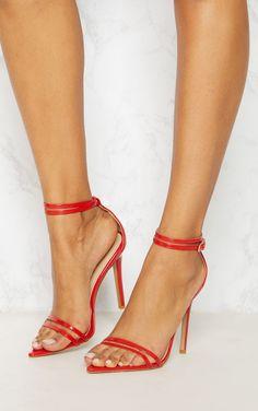 b997602b0 Clover Nude Strap Heeled Sandals