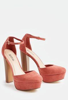 67e881250d48 Jayla Pump in Mauve - Get great deals at JustFab Pink Ladies