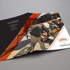 freelance Create a 4-8 Page Brochure for the Burcham Bagger Sandbag Filling Machine by Brand War