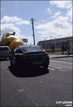 Giant Minion Attack. [video]