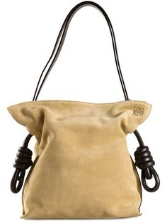 Shop Loewe 'Flamenco' shoulder bag in Forty Five Ten from the world's best independent boutiques at farfetch.com. Over 1000 designers from 300 boutiques in one website.