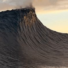 The perfect Waves Animated GIF for your conversation. Discover and Share the best GIFs on Tenor. No Wave, Anim Gif, Gif Animé, Sea And Ocean, Ocean Beach, Ocean Gif, Waving Gif, Sea Waves, Surfs Up