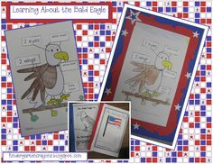 Kindergarten Crayons: bald eagle
