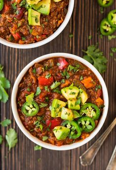 Instant Pot Paleo Chili. This delicious Paleo beanless chili recipe will become a family favorite. Hearty, warming, and ready in under 1 hour!