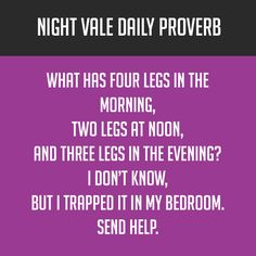 Night Vale Daily Proverbs are the reason to listen to the ending credits!