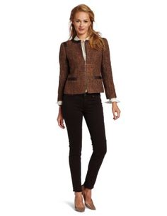 Jones New York Women`s Petite Boucle Jacket $124.50