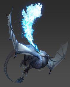 ArtStation - dragon, ere -