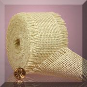 Jute Mesh Ribbons (White or Burgundy) $5.75 (for 2.5, but only 2.93 for 1.5)