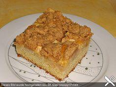 Apfel - Zimt - Streuselkuchen (Rezept mit Bild) von Bindele   Chefkoch.de