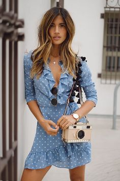 Timeless By Rocky Barnes Blog | Polka Dot Dress