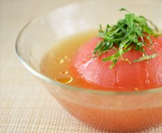 糖尿病レシピ集:丸ごとトマトの冷製スープ - 糖尿病とうまくつきあう