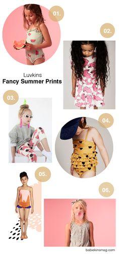 Babiekins Magazine   Fancy Summer Prints
