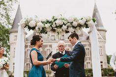 #wedding #mariage #décoration #arche #ceremony #weddingceremony