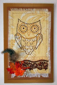Bastelmania: A beady eyed owl and more