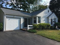 Exterior House Renovation // Upper Providence, PA // After // Front of House, Windows, Garage, and Door