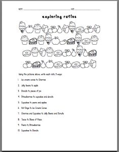 math worksheet : 1000 images about math ratios  proportions on pinterest  : Maths Ratio And Proportion Worksheets