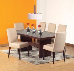 Mesa de comedor moderna maralba material madera de roble for Table extensible keneah