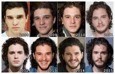 The Evolution of: Kit Harington