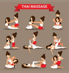 Massage And Healthcare Infographics Royalty Free Vector- benjamin delmas Massage Tips, Thai Yoga Massage, Massage Benefits, Good Massage, Massage Therapy, Technique Massage, Reflexology Massage, Cupping Massage, Massage Body