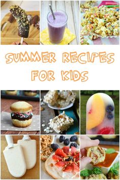 Summer recipes for kids. Keep the kids busy in the kitchen this summer!