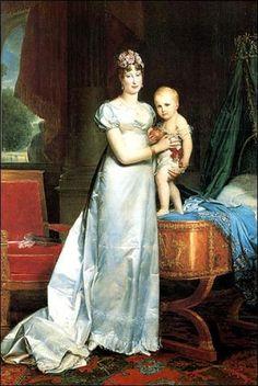 Marie-Louise (1791-1847), impératrice des Français et le Roi de Rome (1811-1832)