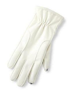 Isotoner Smart Touch Gloves Ivory Use Them With « Clothing Impulse