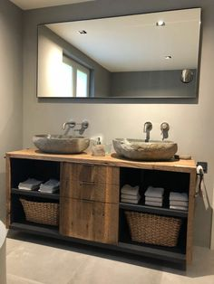 Interior, Towel Storage, Bathroom Vanity, Bathroom Towels, Bathroom, Bathroom Sink, Bathrooms Remodel, Bathroom Towel Storage, Bathroom Inspiration