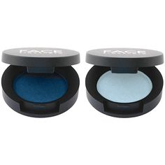 Pearl Shadow Duo (Ice Blue, Delft Blue) ❤ liked on Polyvore featuring beauty products, makeup, eye makeup and eyeshadow