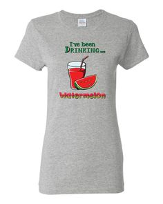 Women's short sleeve t-shirt Watermelon • 100% cotton jersey • Pre-shrunk • Near-capped sleeves • Mid-scoop neck • ½ rib double needle collar