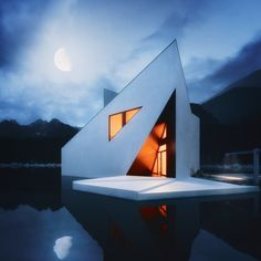 #modern #house and #architecture - concept