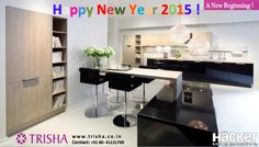 A New Beginning ! #2015  Check out our latest Hacker kitchens today!  #TrishaInteriors