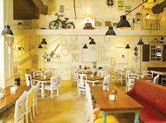Check out this quirky restaurant by interior designer Minnie Bhatt.