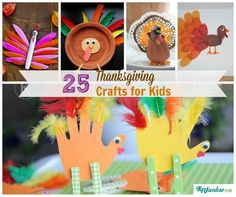 from funny to sweet 5 adorable thanksgiving turkey crafts fun