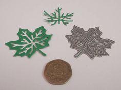 Tattered Lace Botanical Leaves Single Leaf Die 4.5cm x 4cm 2
