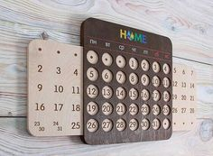 Interesting take on a perpetual calendar