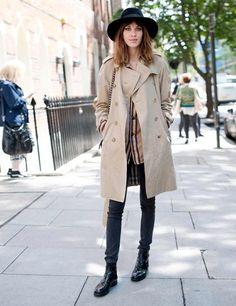 E L L E S A P P E L L E: Alexa Chung + Chelsea Boots