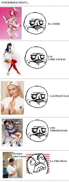Las enfermeras no son como las dibujan
