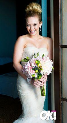Hilary Duff Wedding Bouquet