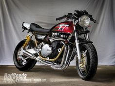 Kawasaki Z1000 A2 1978 Cafe Racer BS2 by BadSeeds #motorcycles #caferacer #motos | caferacerpasion.com