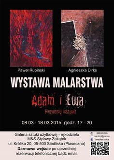 Adam i Ewa - PIERWOTNY INSTYNKT - wystawa w Stylowym Zakątku - Nasze Piaseczno - Najświeższe wiadomości z powiatu piaseczyńskiego