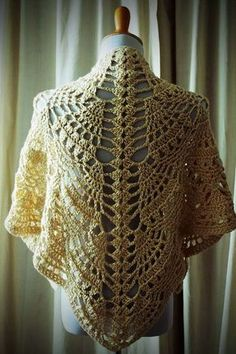 Pineapples For Everyone Shawl By Marie Segares - Free Crochet Pattern - (ravelry)