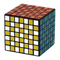 7X7x7 Cube Puzzle ,Shengshou Black Speed Cube, The Best 7X7, 2015 Amazon Top Rated Puzzles #Toy