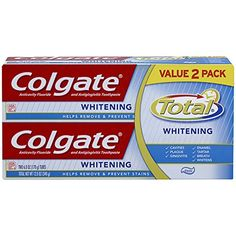 Colgate Total Whitening Toothpaste Twin Pack 6 Ounce * You can find more details by visiting the image link.